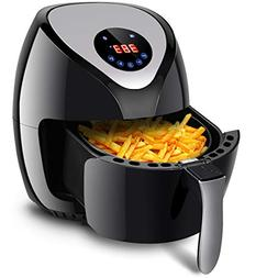 Costzon Electric Air Fryer, 3.2 Qt.1400W Healthy Oil Free Co
