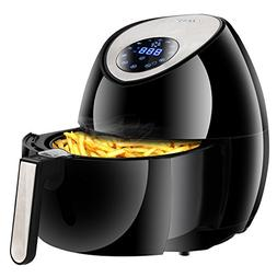 SUPER DEAL Digital Deep Air Fryer Oven Cooker with Recipes &