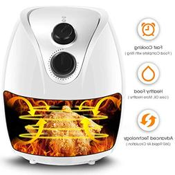 Costzon Electric Air Fryer, 3.2 Quart 1500W, Healthy Oil Fre
