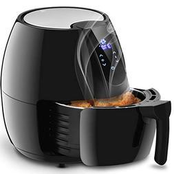 Costzon 4.8 Qt. Electric Air Fryer, Extra Large Capacity, 15