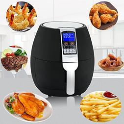 ZENY 1500W Electric Air Fryer Oil Free Cooking Large Capacit