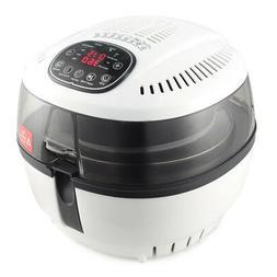 Air Fryer 10 QT 1200 WATT Rotisserie Griller Roaster Oil Les