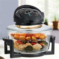 Oiless Healthy Tasty Electric Air Fryer 1400W XL 17-Quart Co