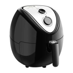 electric air fryer timer temperature