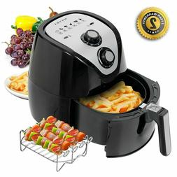 Electric Hot Air Fryer 1500 Watt Large Capacity 3.2L 3.4 QT