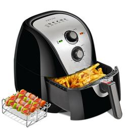 Secura Electric Hot Air Fryer Extra Large Capacity 5.0L / 5.