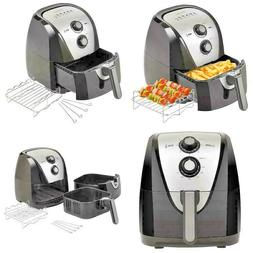 Secura Electric Hot Air Fryer Large Capacity Accessories Rec