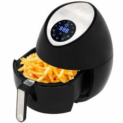 Zeny Electric LCD Air Fryer 4.2 QT w/ Touch Screen & Removab
