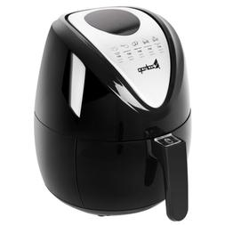 1300W 4.4QT Electric Oil Less Air Fryer Timer and Temperatur
