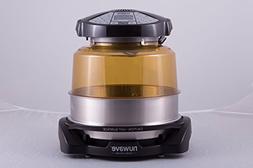 NuWave Elite Oven w/extender ring, stainless steel liner & c