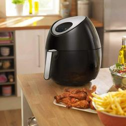 Ensue Portable Electric Air Fryer Temperature LED Touch Disp