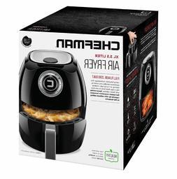Chefman Express Air Fryer, Rapid Hot-Air Technology, Ultra Q