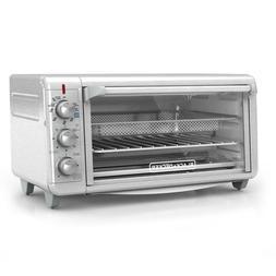 Extra Wide Crisp N Bake 1500 W 8-Slice Stainless Steel Toast