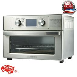 FARBERWARE Air Fryer Toaster OVEN Grill Small Stainless Stee