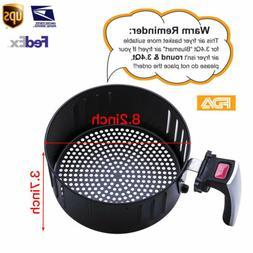 Blusmart Frying Basket Air Fryer Replacement For 3.4QT/3.2L
