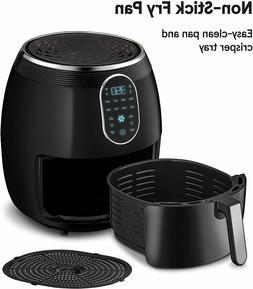 Gourmia GAF718 Digital Free Fry Air Fryer - 1700 Watt - 8 Pr