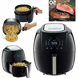 Gowise Usa 1700-Watt 5.8-Qt 8-In-1 Digital Air Fryer And 50