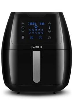 GoWISE USA GW22731 5.8 Quart Programmable Air Fryer and 50 R