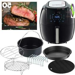 Gowise Usa Gwac22003 5.8-Quart Air Fryer With Accessories, 6