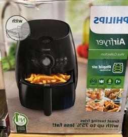 Philips HD9226/23 Viva Airfryer 1.8lb/2.75qt Black Fryer Dou