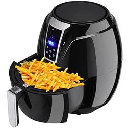 ZENY Electric Air Fryer Oil Free Digital Touch Screen Contro