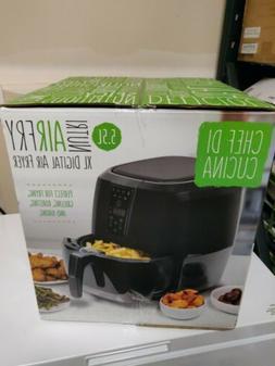 Chef di Cucina Healthy Fry XL Air Fryer 5.5 Liter New In Box