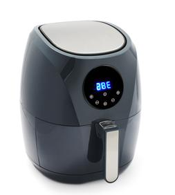 healthyfry air fryer charcoal gray excellent condition