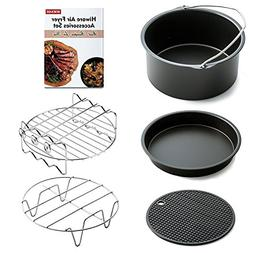 Hiware Air Fryer Accessories Fits All 3.2QT - 5.3QT - 5.8QT