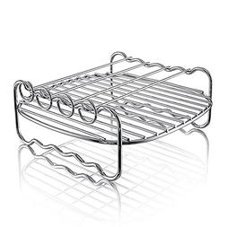 Hiware Air fryer Rack - Fits all 3.7QT – 5.8QT - Multi-pur