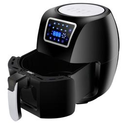 Huge Size Family Heat Tools Up to 392°F Deep Air Fryer W/ 8