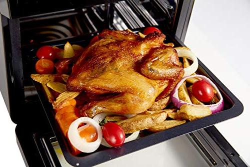 The Living QT 13 in Multi-functional Fryer, Convection Oven,Rotisserie, Dehydrator, Roaster, Toaster Healthy Cooking