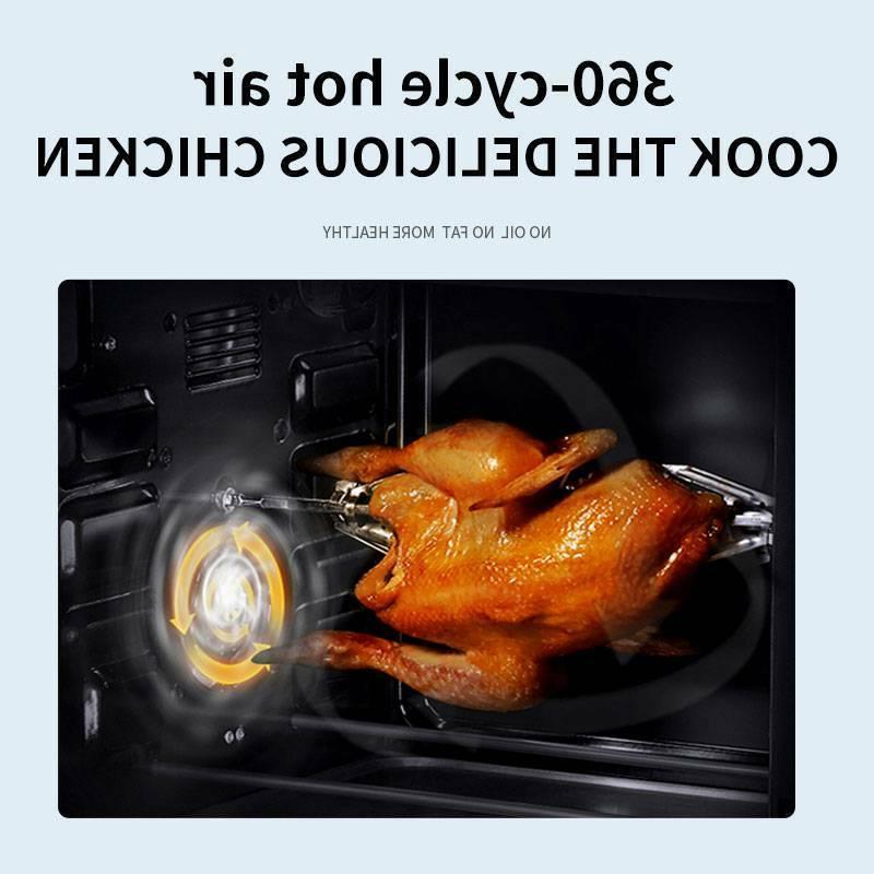10.6 Quart Oven 1700W 8 1 Rotisserie Home 6 US
