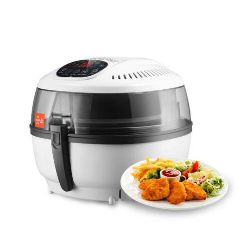 10QT Digital Fryer Calorie Reducer