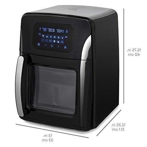 Best 12.4qt 1700W 12-in-1 Programmable Air Dehydrator Set Accessories