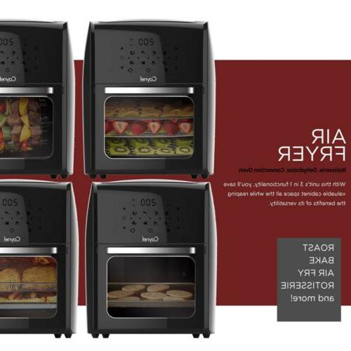 12.5 Fryer with Rotisserie, Convection Oven 1700W