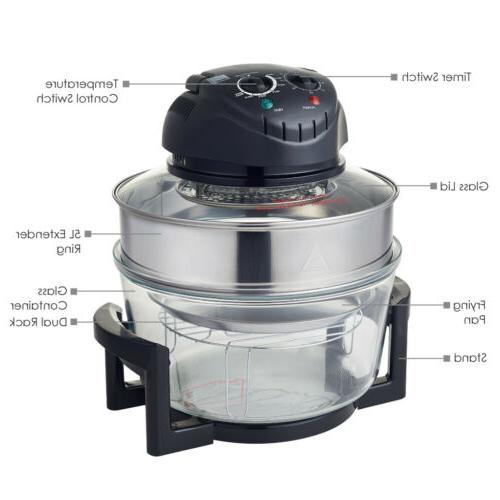 1200W Hometech Halogen Oven Convection Air Steam