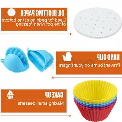 124Pcs Fryer Accessories Plate For