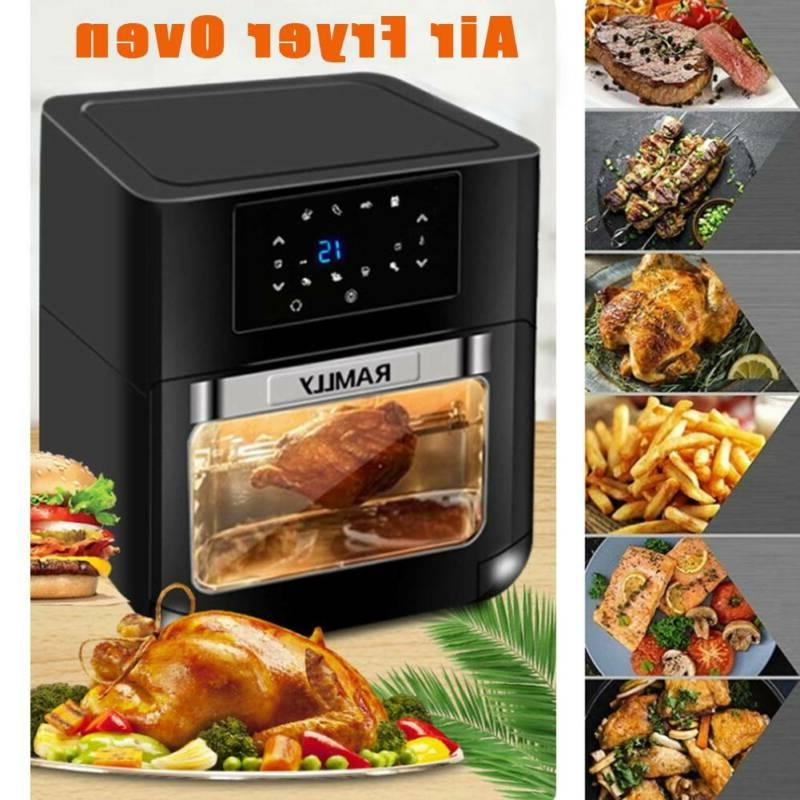 14 Digital Fryer Oven with Dehydrator, Convection Oven