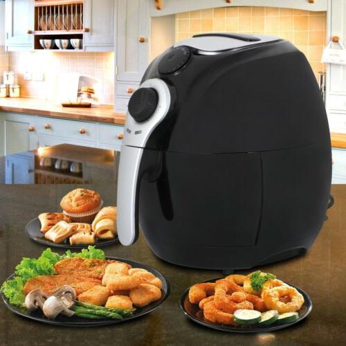 1500w Airfryer Air Temperature Control