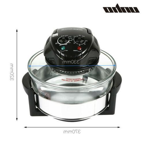 17-Quart Deluxe Air Healthy 1400W Halogen Oven