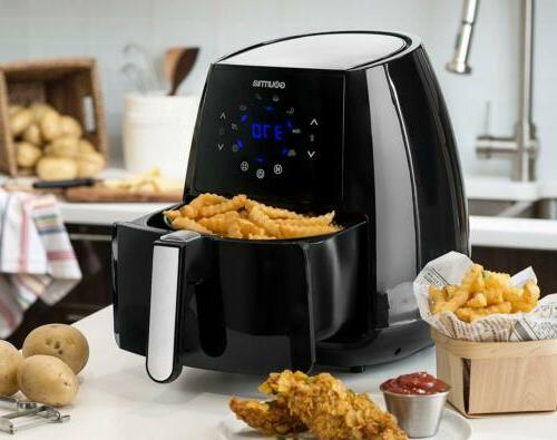 1500W Gourmia Air Fryer AeroCrisp Healthy Cooking