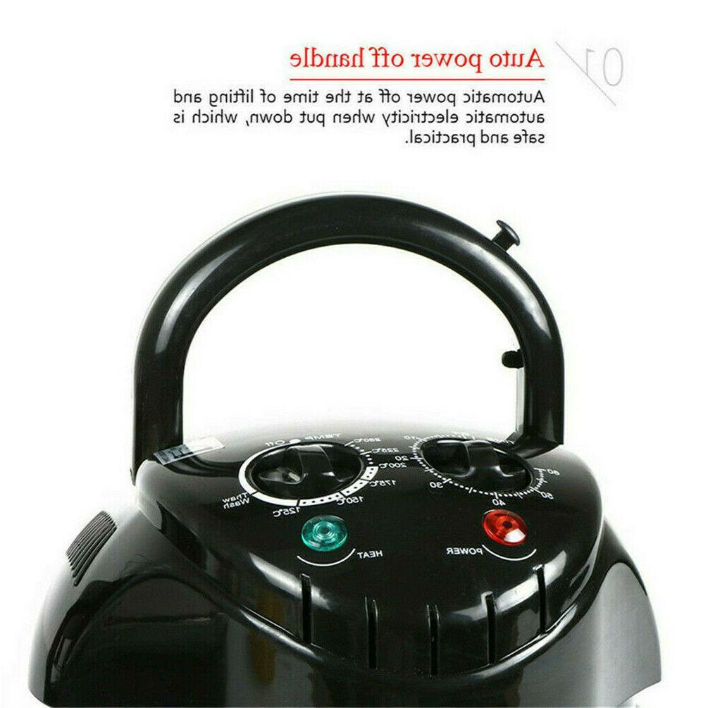 17QT Large Fryer Oven w Accessories Timer Oil-Less