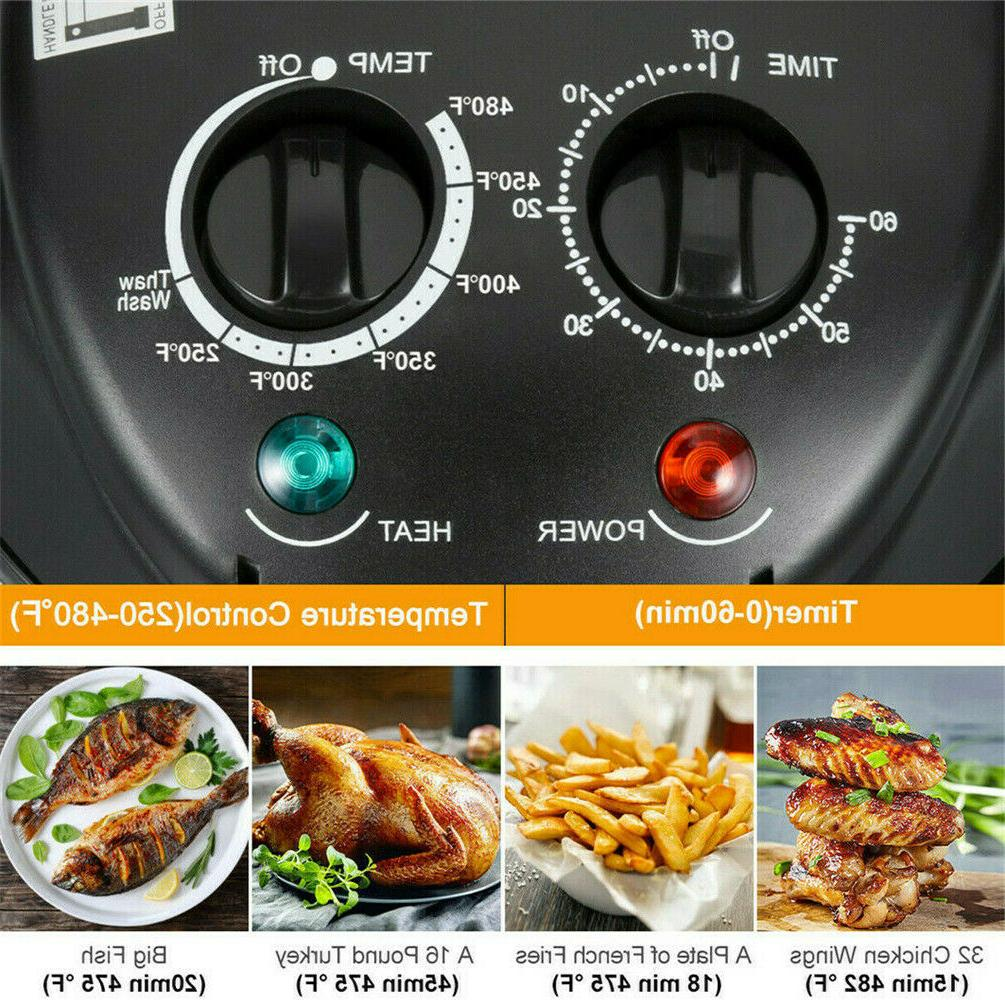 17QT Fryer w Accessories 8 Oil-Less