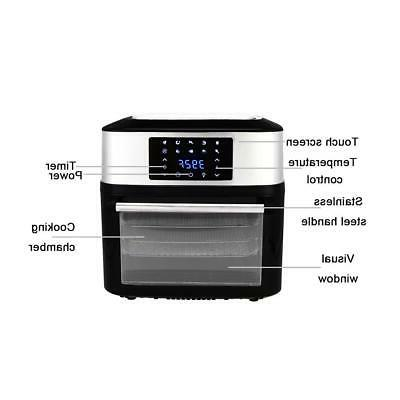 ZOKOP 1800W Air Oven All-in-One 16.9 Quart
