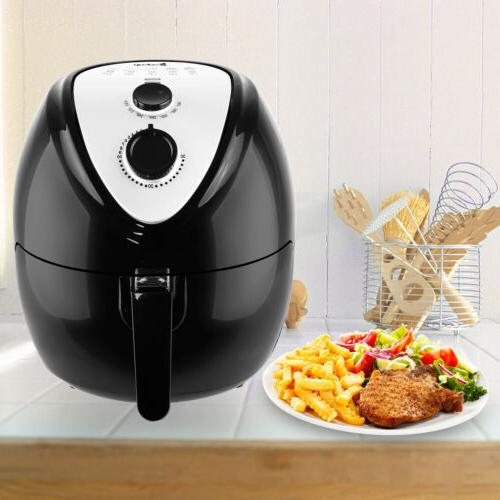 1800W 6.87QT Electric Air Fryer,Temperature Control, Timer N