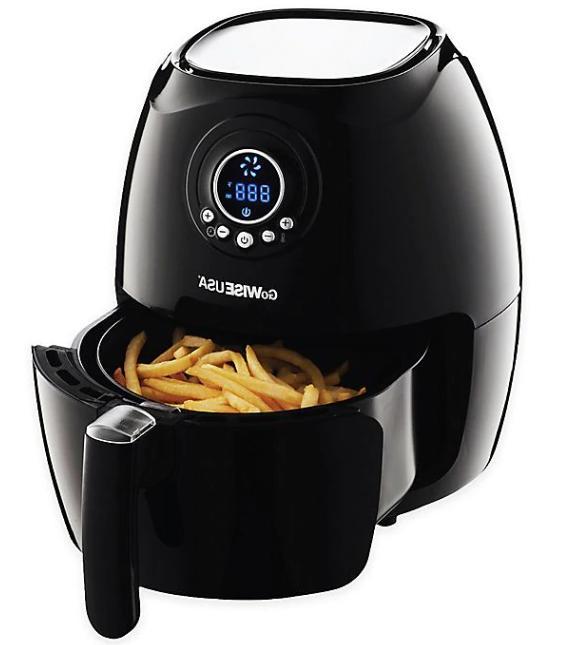 GoWISE USA 2.75 qt. Digital Air Fryer in Black