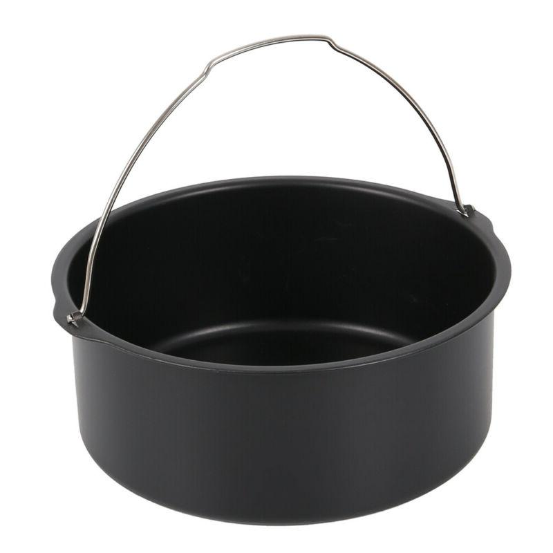 22PCS 8In Fryer Frying Cage Pan Rack Pot