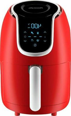 PowerXL - 2qt Hot Air Fryer - Red