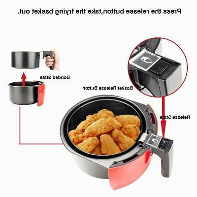 3.5L 1500W Fryer & Control Red