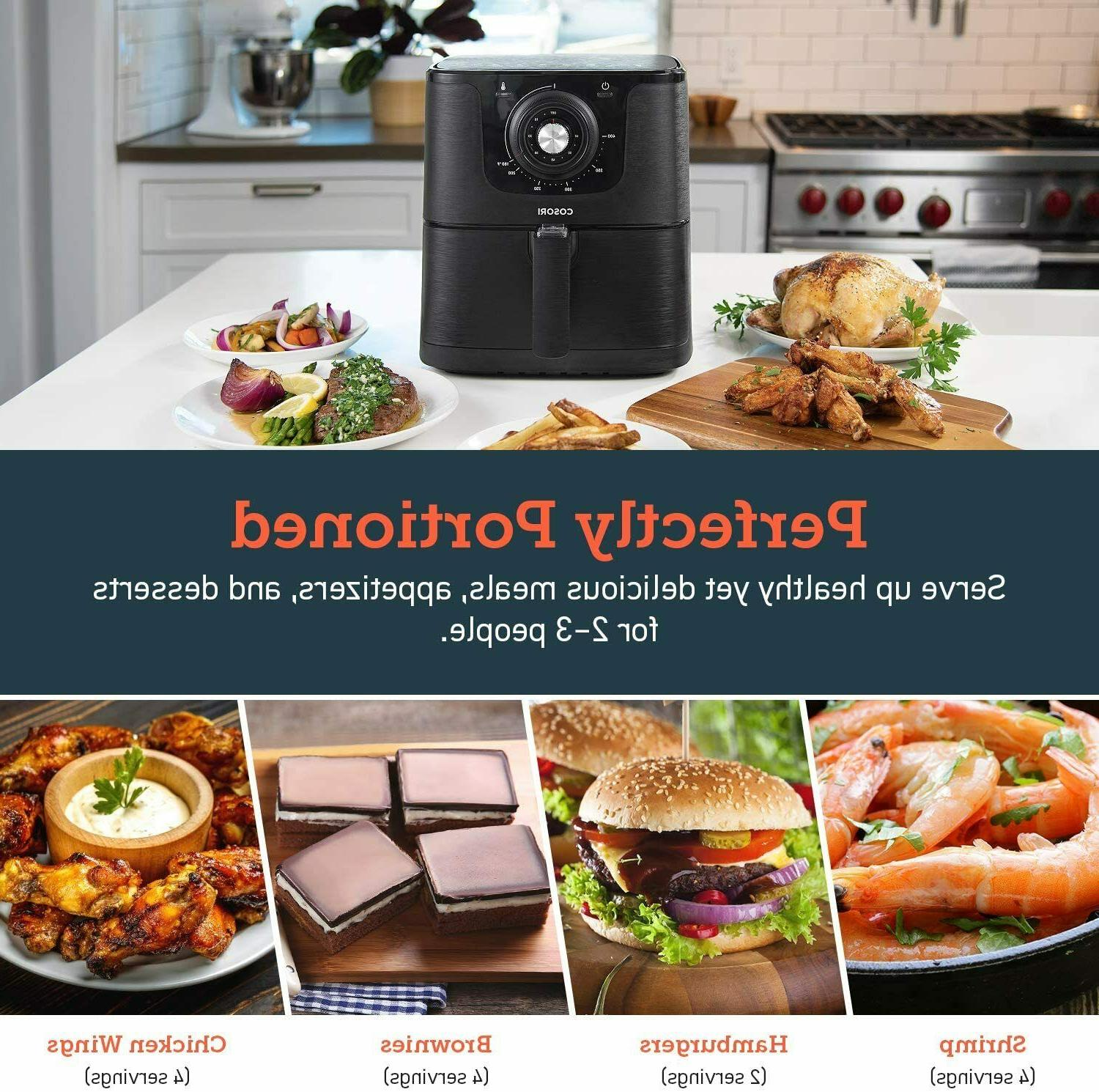 COSORI Fryer 1500W 30 Recipes Yr